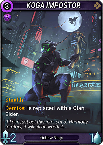 Koga Impostor Card Image
