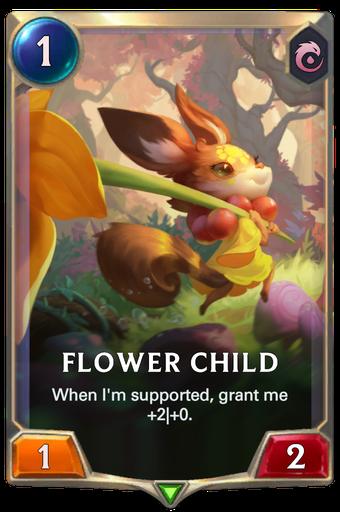 Flower Child Card Image