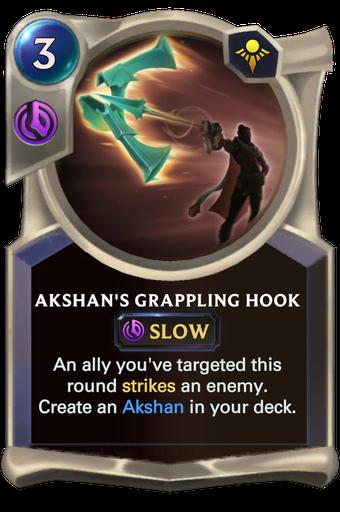 Akshan's Grappling Hook Card Image