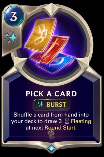 Pick a Card Card Image