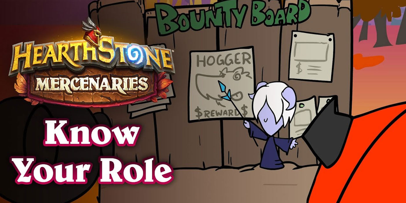 Know Your Role - Blizzard Teams Up With Carbot for a Hearthstone Mercenaries Animation
