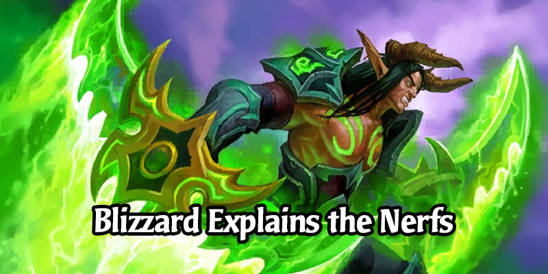Alec Dawson Explains the Reasoning Behind the Upcoming Hearthstone Balance Changes