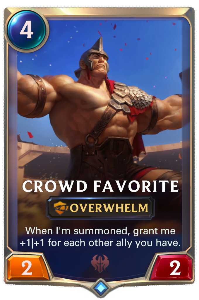 Crowd Favorite Card Image