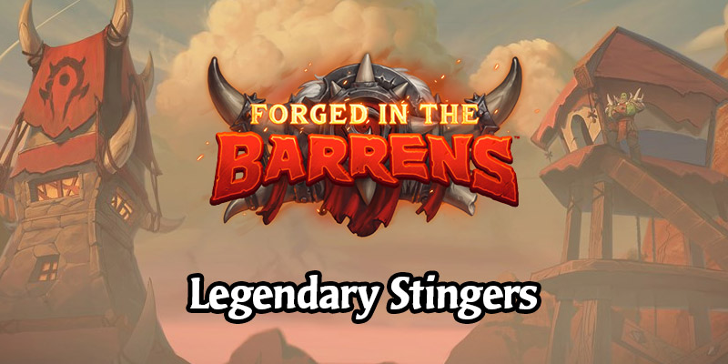 Forged in the Barrens & Core Set Legendary Card Musical Stingers