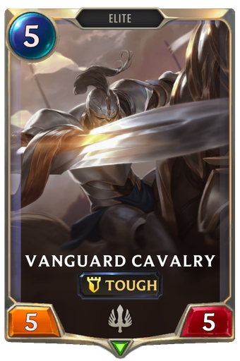 Vanguard Cavalry Card Image