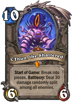 C'Thun, the Shattered Card Image