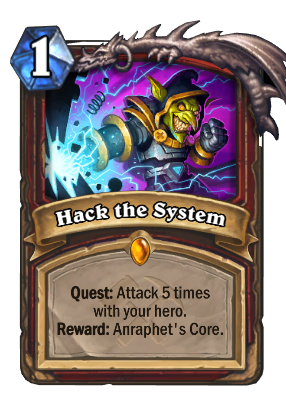 Hack the System Card Image