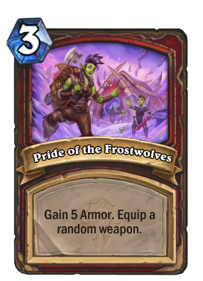 Pride of the Frostwolves Card Image
