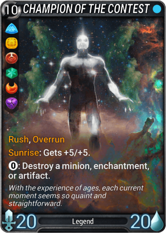 Champion of the Contest Card Image