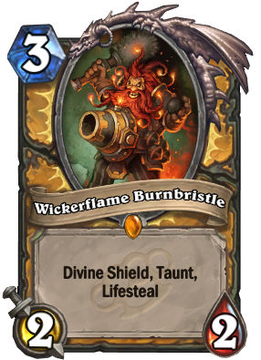 Wickerflame Burnbristle Card Image