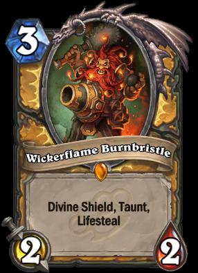Wickerflame Burnbristle Card Image
