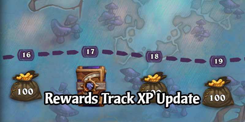 The Hearthstone Rewards Track - Updated Experience Requirements to Get to Level 350, How Long to Get to 50
