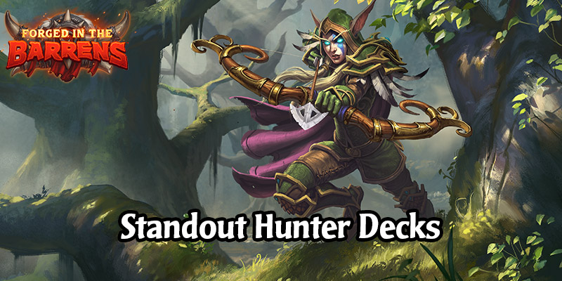 Early Standout Hunter Decks in Forged in the Barrens - Play Something New