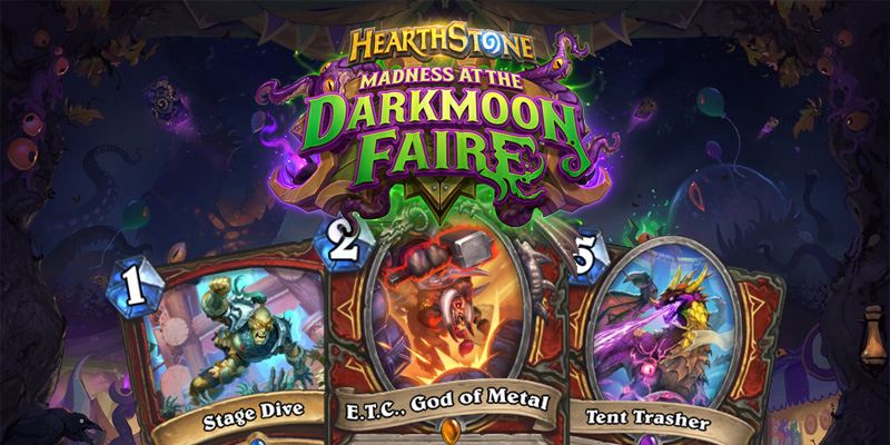 Our Thoughts on Hearthstone's Madness at the Darkmoon Faire Warrior Cards