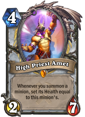 High Priest Amet Card Image