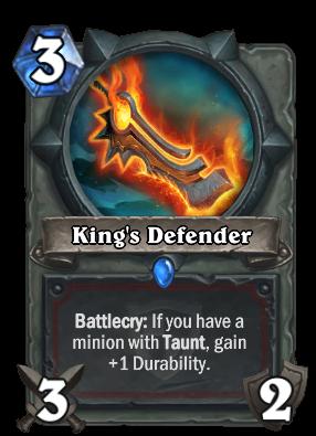 King's Defender Card Image
