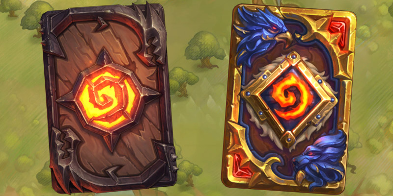 Two New Card Backs Have Been Added to Hearthstone's Ranked Season Rewards - Utgarde Keep & Varian Wrynn