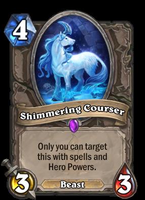 Shimmering Courser Card Image