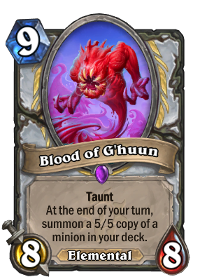 Blood of G'huun Card Image