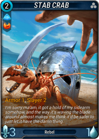 Stab Crab Card Image