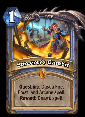 Sorcerer's Gambit Card Image