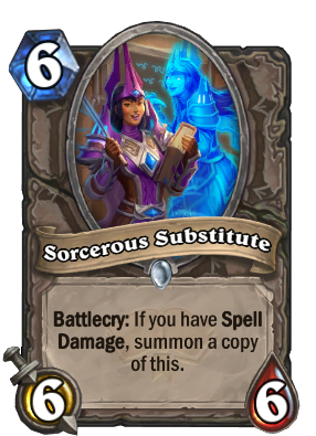 Sorcerous Substitute Card Image