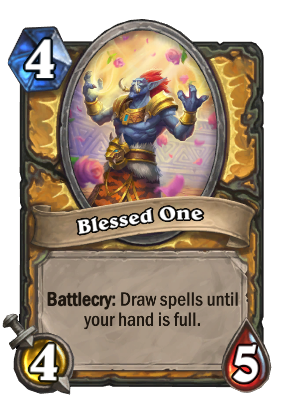 Blessed One Card Image