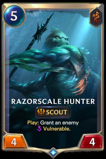Razorscale Hunter Card Image