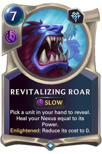 Revitalizing Roar Card Image
