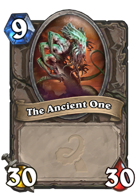 The Ancient One Card Image