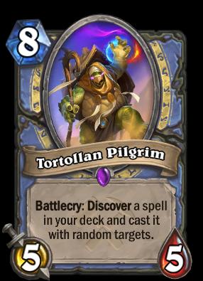 Tortollan Pilgrim Card Image