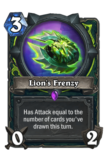Lion's Frenzy Card Image