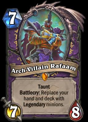 Arch-Villain Rafaam Card Image