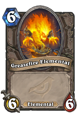 Greasefire Elemental Card Image