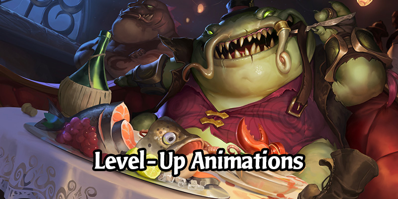 Champion Level-Up Animations for Shyvana, Soraka, and Tahm Kench from Monuments of Power