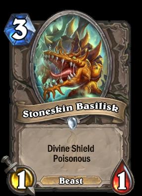 Stoneskin Basilisk Card Image