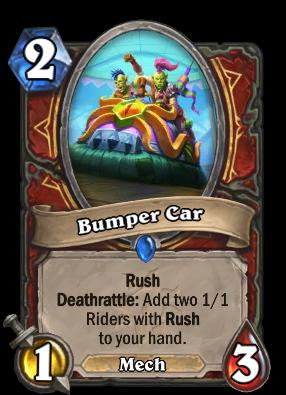 Bumper Car Card Image