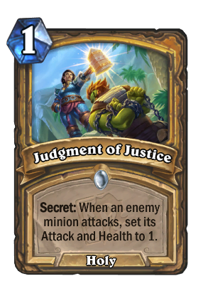 Judgment of Justice Card Image