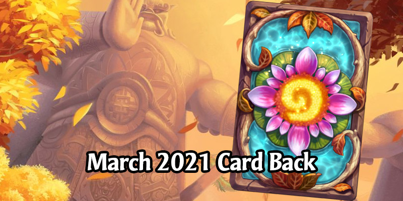 Hearthstone's March 2021 Card Back, Vale of Eternal Blossoms, Has Arrived!