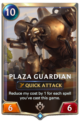 Plaza Guardian Card Image