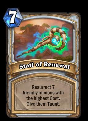 Staff of Renewal Card Image