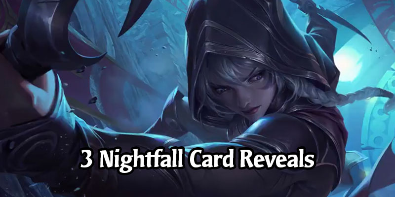 Nightfall Keyword Reveals Continue for Call of the Mountain - 3 New Targon Cards Revealed