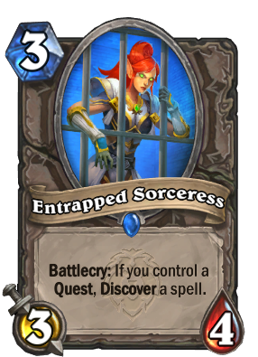 Entrapped Sorceress Card Image