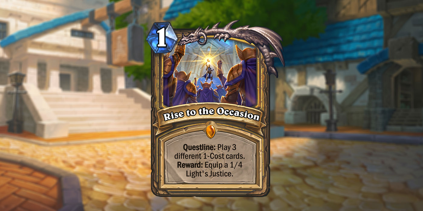The Legendary Paladin Questline Has Been Revealed for United in Stormwind by Gamespot - Rise to the Occasion