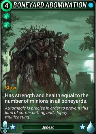 Boneyard Abomination Card Image
