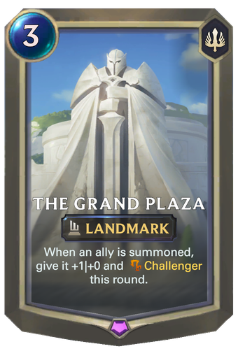 The Grand Plaza Card Image