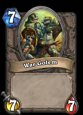 War Golem Card Image