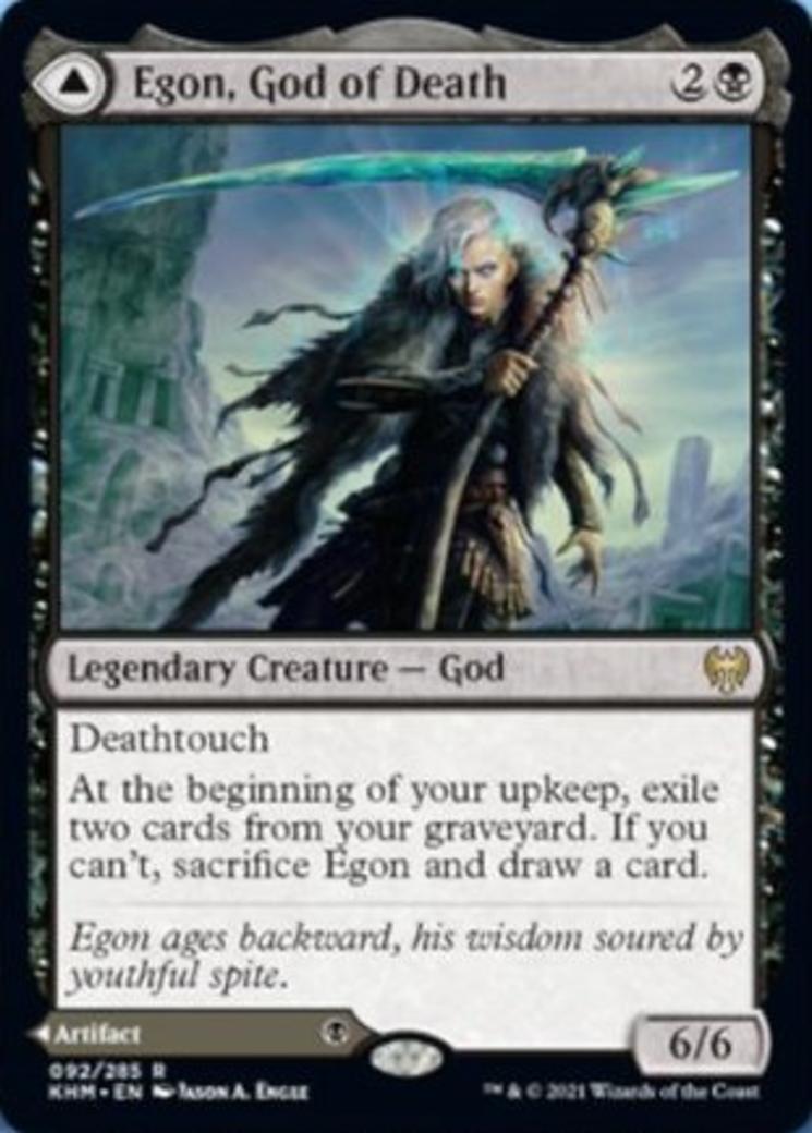 Egon, God of Death // Throne of Death Card Image