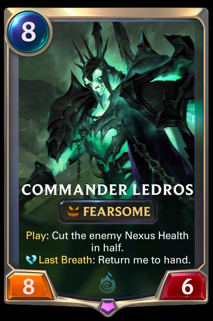 Commander Ledros Card Image