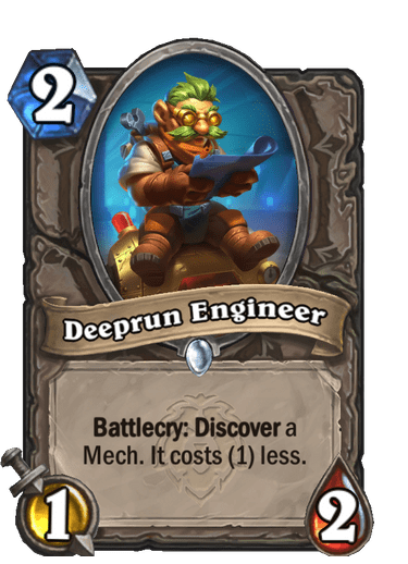 Deeprun Engineer Card Image